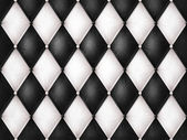 Black and white leather — Stock Photo