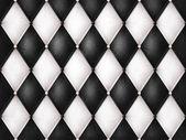 Couro preto e branco — Fotografia Stock
