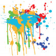 Ink splashes — Stock Vector #8839307