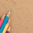 Colour pencils — Stock Photo #8669090