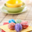 Painted Colorful Easter Eggs — Foto de Stock