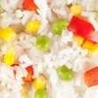 Rice with vegetables closeup — Stock Photo