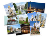 Photos of Russia. Moscow and St. Petersburg — Stock Photo