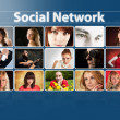 Social network concept — Stock Photo #9910788