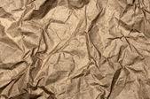 Zerknittertes Papiertragetasche — Stockfoto