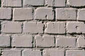 The Background with old painted brick wall — Stock Photo