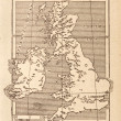 Antique Map of Britain — Stock Photo #8389210