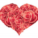 Heart of flowers, vector illustration — Stock Vector #8588000