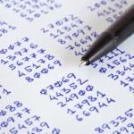 Pen And Ciphertext — Stock Photo