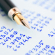 Pen And Numbers — Stock Photo