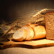 Bread And Wheat — Stock Photo #8065982
