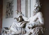 River God Tiber Sculpture — Stock Photo