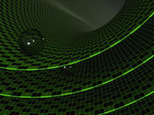 Ball abstract background. 3d — Foto de Stock