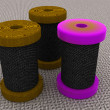 Bobbins — Stock Photo