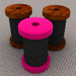 Stock Photo: Bobbins