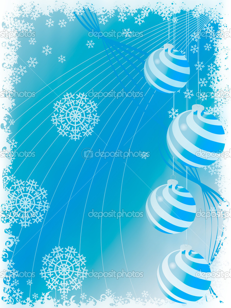 Abstract christmas holiday backgrounds. illustration — Stock Photo #8619255