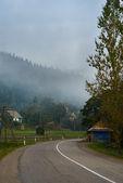 Bergsväg — Stockfoto