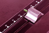 Pitch on dj turntable — Stock Photo