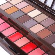 Stock Photo: Professional make up eyeshadows set
