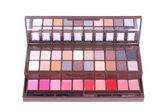 Professional make-up eyeshadows set — Stock Photo