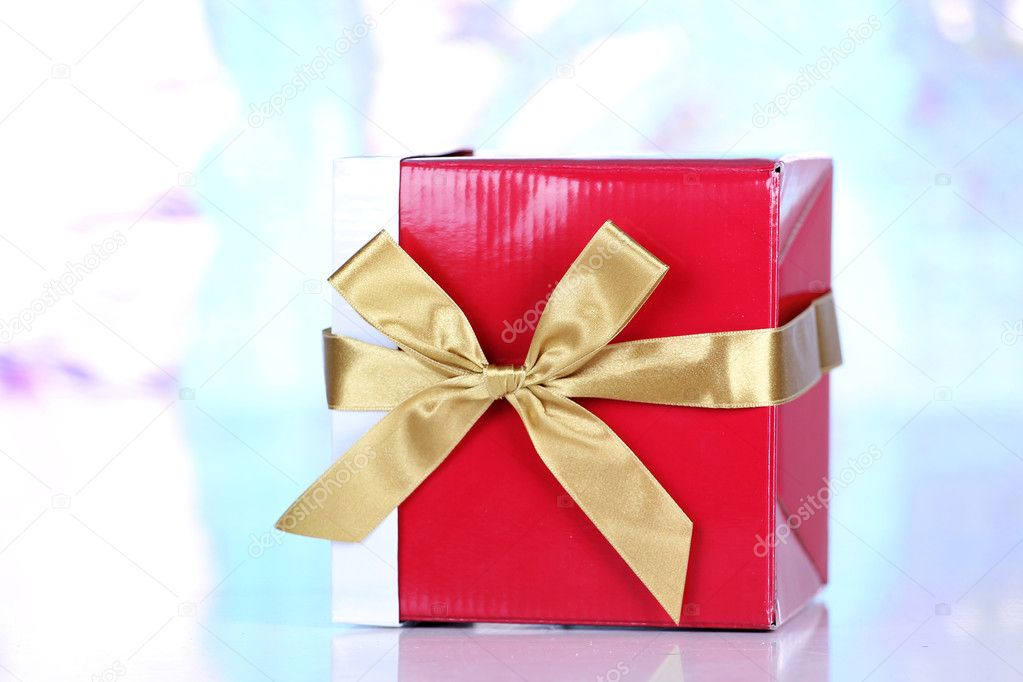 New year present box — Stock Photo #8485508