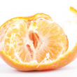 Open mandarin - Stock Photo