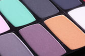 Professional make-up eyeshadows — Stock fotografie
