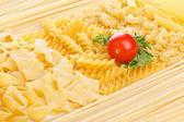 Tomato and macarons — Zdjęcie stockowe