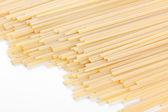 Spaghetti on white — Stock Photo