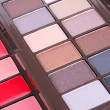 Royalty-Free Stock Photo: Eyeshadows set