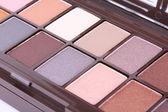 Make-up eyeshadows set — Stock Photo