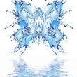 Royalty-Free Stock Photo: Water butterfly