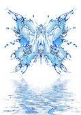 Water vlinder — Stockfoto