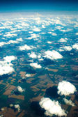 Kind of Mother earth from above — Stock Photo
