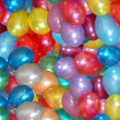 Background from balloons — Stock Photo