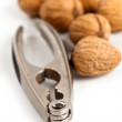 Walnuts and nutcracker — Stock Photo #8783967