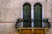 Italian balcony — Stock Photo