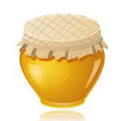Sweet honey pot — Stock Vector