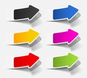 Realistic design elements — Stock Vector