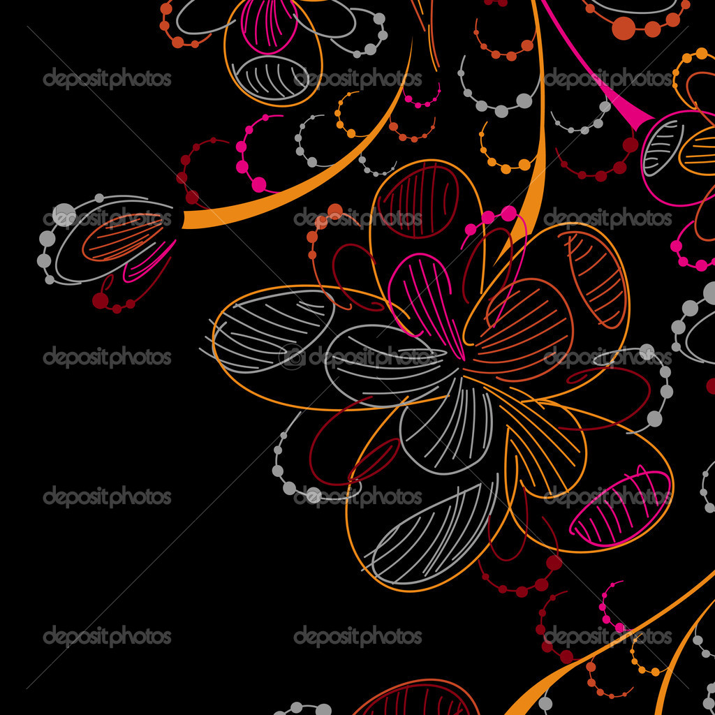 Floral background — Stock Vector #8340081