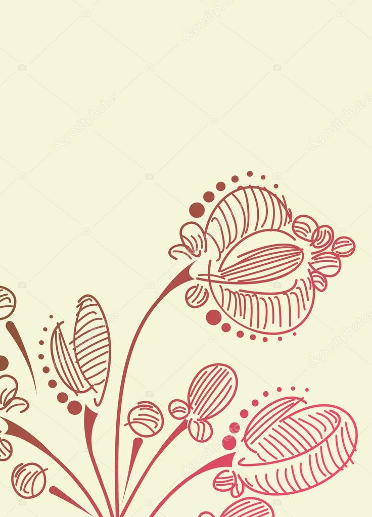 Floral background — Stock Vector #8340090