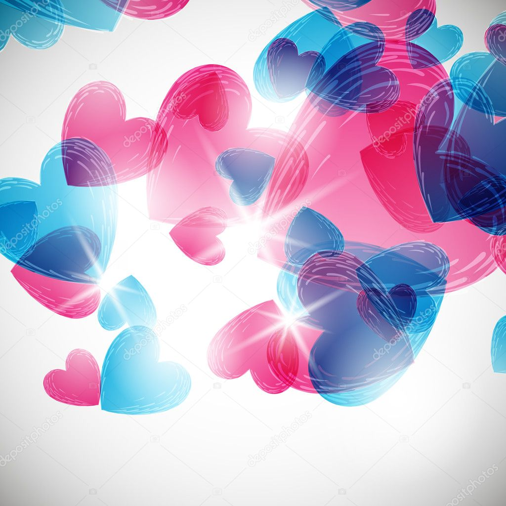 Valentine background  Stock Vector #8873740