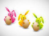 Easter rabbit — Stok Vektör