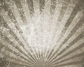 Retro background with rays sepia. — Stock Photo