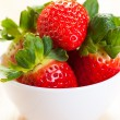 Royalty-Free Stock Photo: Bowl Of Fresh Strawberries