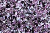 Molti piccoli diamanti gioiello pietre, sfondo di lusso — Foto Stock