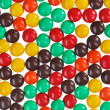 Stock Photo: Multicolor bonbon sweets (ball candies) food background