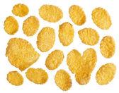 Cornflakes voedsel ingrediënt achtergrond — Foto de Stock