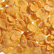Corn flakes food ingredient background — Stock Photo #9342139