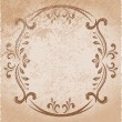 Vintage oval frame — Stock Vector #8855667